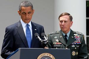 Obama and Petraeus